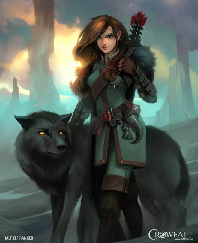 female half elf ranger