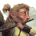male lightfoot halfling